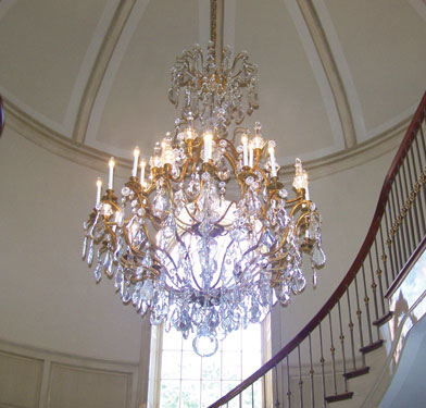 Arts chandelier installation mirror tapestry hanging in dallas tx chandelier hanging services in dallas aloadofball